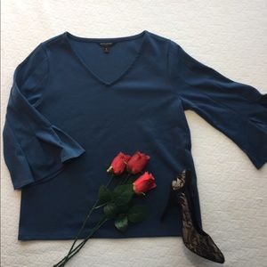 Dark Teal Banana Republic Blouse
